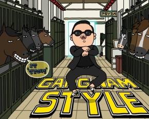 Horse Trottin Psy