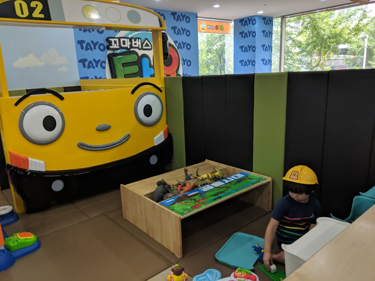 Kid Cafe's & Jumping Gyms
